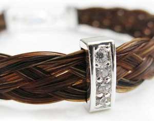 Beautiful horse hair jewellery designs