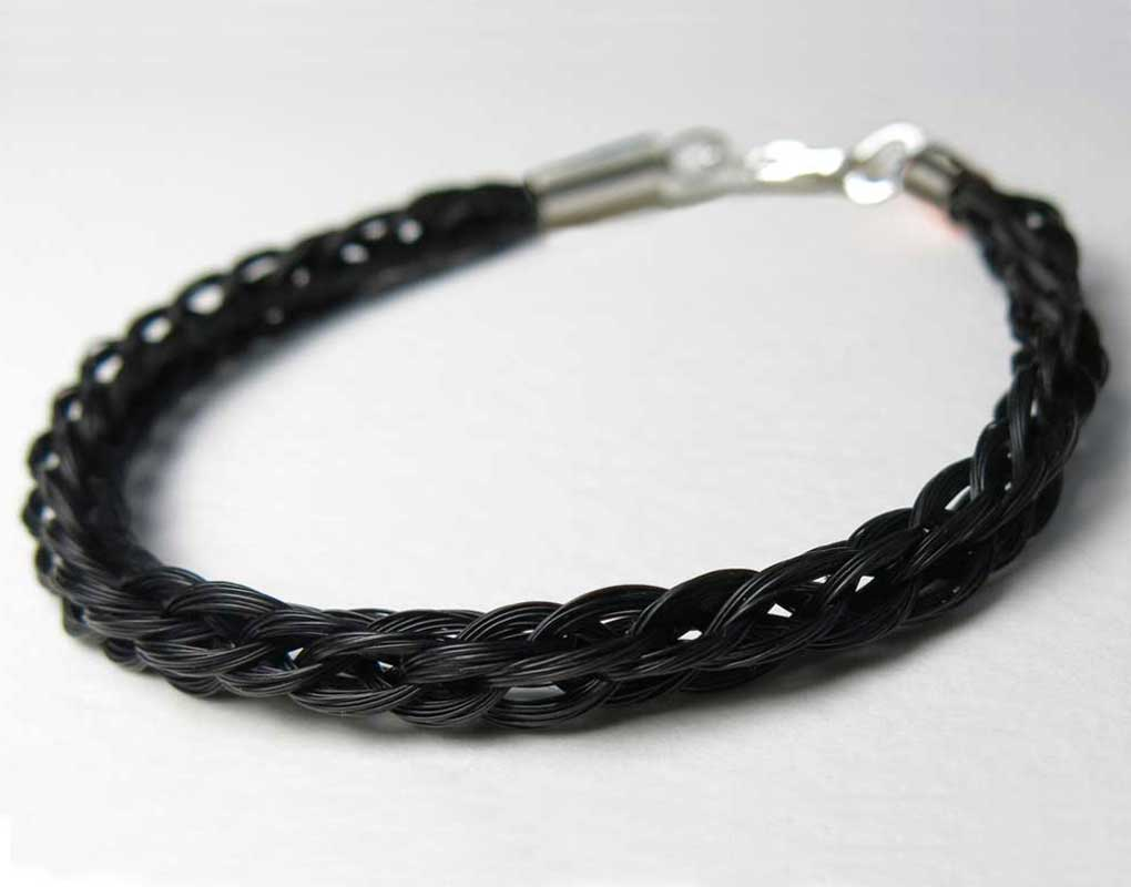 Gemosi Solace Horse Hair Bracelet Made From Your Horse S
