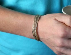 Harmony horse hair bracelet