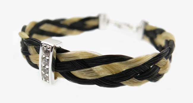 Ted Clydesdale horse hair bracelet