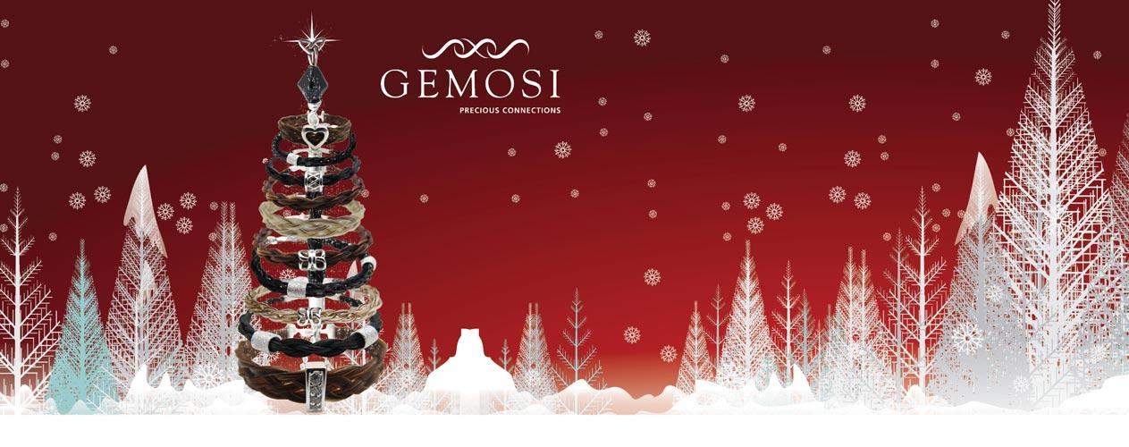 Gemosi horse hair jewellery Christmas - Gemosi