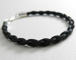 Gemosi Spirit horse hair bracelet black