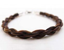 Gemosi Spirit horse hair bracelet chestnut