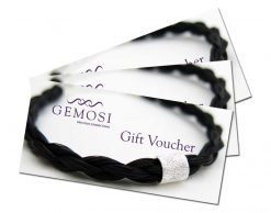Gemosi horse hair jewellery gift voucher