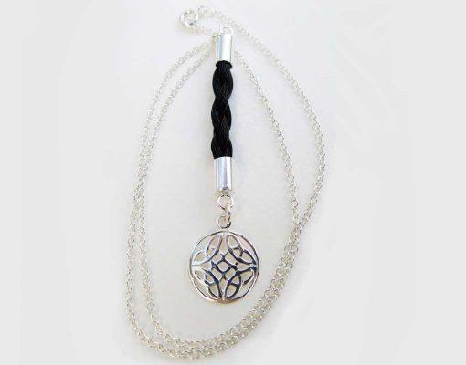 Gemosi Cara horse hair necklace