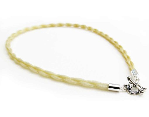 Gemosi Eternity Horse Hair Necklace