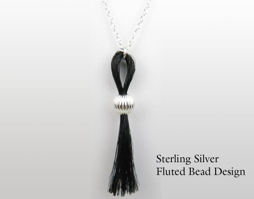 Gemosi Horse Hair Tassle Necklace