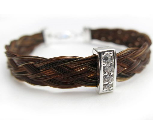 Gemosi-Harmony-horse-hair-bracelet-with-crystal-slider